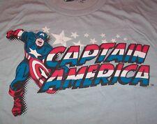 Vintage Style Marvel Comics Captain America T-shirt Medium Avengers