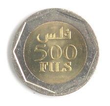 New listing Bahrain Bimetallic Coin 500 Fils 2002 Unc