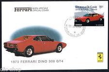 FERRARI LA BUSTA UFFICIALE 1973 FERRARI DINO 308 GT4 timbrato 2002