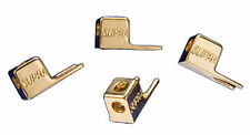 SUPRA FORK XL Spade Connectors (6.5 mm) TWO PAIRS 24k gold-plated NO SOLDERING !