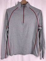 CLOUDVEIL PULLOVER 1/4 ZIP Shirt Long Sleeve Athletic Activewear Men's Size Med