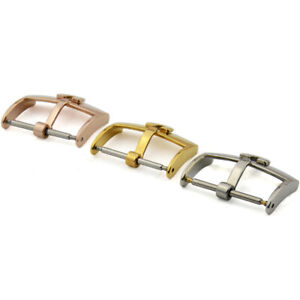 16mm 18mm 20mm New High Quality Stainless Steel Watch band Buckle Clasp