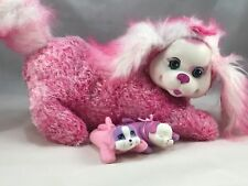 Puppy Surprise Plush Pet With 2 Babies One pup Pants and barks (AJ)