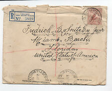 1939 Australia Cover with 6 d Bird & Lidcombe New South Wales Registry Label