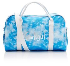 BRAND NEW & TAGS Sportsgirl Rewind - blue tie dye Duffle Bag Blue FREE POST