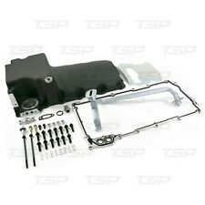 LS Aluminum Rear Sump Low-Profile Retro-Fit Oil Pan Black