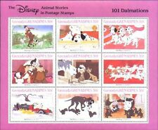 Disney Grenada-Grenadines MNH Sc 988 Animal stories 101 Dalmatians