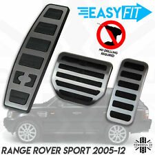Supercharged Foot pedal cover kit for RangeRover Sport brake rubber alloy HST