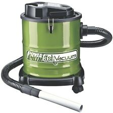 Wood Pellet Stove Ash Vacuum Cleaner Compact 3-Gal Fireplace BBQ Grill Vac New