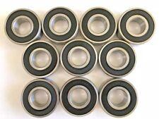 10 pcs 6204 2RS rubber sealed Premium bearing, 20x 47x 14 mm