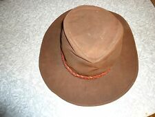 """Outback Trading """"Grizzly"""" Oilskin Hat"""