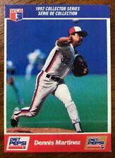 1992 Dennis Martinez Diet Pepsi Series - #4 Of 30 - Montreal Expos (CDN Version)