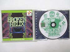 PlayStation -- BROKEN HELIX -- PS1. JAPAN GAME. Works fully!21552