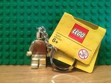 LEGO GOLD KEYCHAIN/Key Ring/ Keyring{850807] NEW WITH TAGS