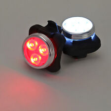 LED Fahrradlampen Set Fahrradbeleuchtung Velo Fahrradlicht Vorder- und Rücklicht