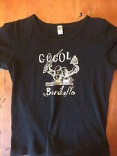 Womens Size Medium Gogol Bordello Shirt Original Rare Out Of Print