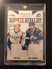 2011-12 Panini Rookie Anthology Rookie Rivalry Dual Jerseys #9 Eakin/Connolly