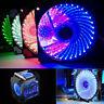 LED Computer Fan 120 mm Air Cooling Desktop High Airflow PС Case Fan Pack New