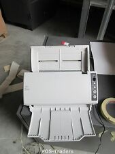 0 SCANS? - FUJITSU FI-6110 Scanner 20ppm 40ipm A4 COLOR DUPLEX USB 8/24 Bit