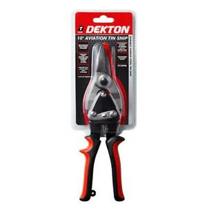"Heavy Duty 10"" Straight Aviation Tin Snips Sheet Metal Cutters Cutting Shears"