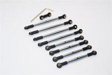 Traxxas 1/16 Mini E-Revo,Mini Summit Aluminum Completed Tie Rod - Grey Silver