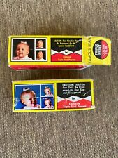 Lot of 2 Famous Brand Triple Print Color Film 127 - 1 Open Box and 1 Sealed