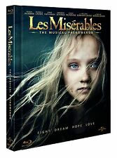 Les Miserables Blu Ray + CD Digibook Written in English