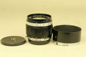 As is Olympus H.Zuiko Auto-S 42mm f/1.2 Lens for PEN F FT FV