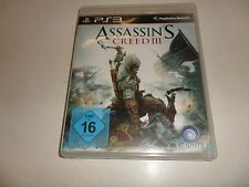 PlayStation 3 PS 3 Assassin's Creed 3