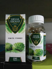 200 Capsules 100% Soursop Leaves Extract Oil Annona Muricala Guabana Graviola