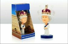 QUEEN Elizabeth II Royal Commemorative Bobble Head 15 cm Resin Figure Ornament