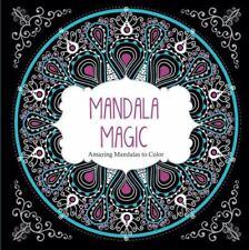 New Mandala Magic Adult Coloring Book Amazing Mandalas To Color