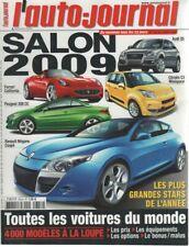 L'AUTO JOURNAL 2008 754 SALON DE L'AUTOMOBILE TOUTES LES VOITURES DU MONDE 2009