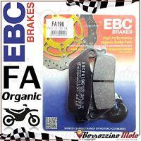 PASTIGLIE FRENO ANTERIORE ORGANIC EBC FA196 KAWASAKI Z 750 750 2007-2012