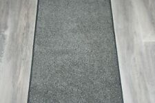Fairway 237 Grey Carpet Heavy Domestic Hall / Stairs Extra Long Cut To Size