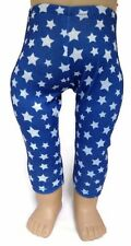 Blue with White Stars Leggings made for 18 inch American Girl Doll Clothes