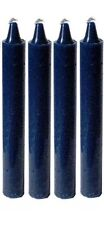 """New-Lot of 4 Blue Chime/Spell Candles 4"""" Pagan/Wicca/Wiccan/Witch/ Ritual"""