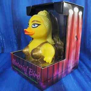 Material Bird CelebriDuck Rubber Duck Madonna fans Blond Ambition Virgin NIB
