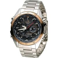 Casio Edifice EQS-500 Chronograph Solar Powered Mens Watch EQS-500DB-1A2 New