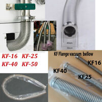 31Typle KF16/25/40/50 Bellows Hose Flange Flexible Vacuum Pipe Tube Corrugated