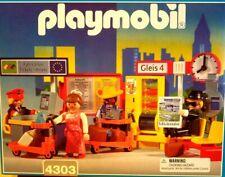COMPLETE Playmobil Train Station Interior 4303 in Original Box 4302 4020