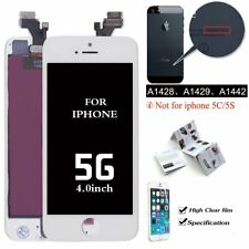 For iPhone 5 LCD Digitizer Display Touch Screen Lens White Assembly Replacement