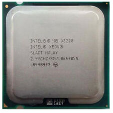 Intel Xeon X3220 2.4GHz Quad Core Processor FASTER THAN Q6600 ON Socket 775