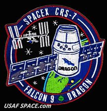 CRS-7 - SPACEX FALCON-9 DRAGON LAUNCH - A BETTER - REPRO - TRIBUTE MISSION PATCH