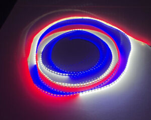 Red White and Blue Led Lights Strip 16ft Non Waterproof