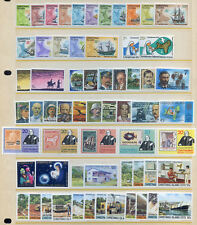 Christmas Islands 1971 to 1986 fine unmounted mint run (2018/06/09#02)