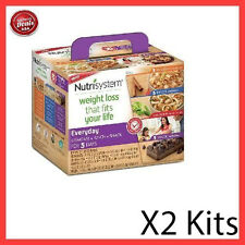 Nutrisystem Everyday 5 Day Weight Loss Kit Diet Food Meals Breakfast - 2 Pack