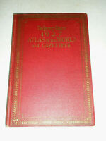 Vintage 1927 Hardcover Library Digest Atlas of the World and Gazetteer