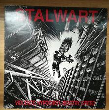 Stalwart – Violence, Hipocrisy, Bigotry, Greed LP 1991 Semaphore Mint/Ex++