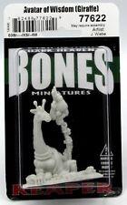 Reaper 77622 Avatar of Wisdom [Giraffe] (Bones) Beastman Sage Mage Miniature NIB